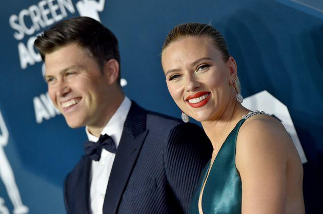 Scarlett Johansson y Colin