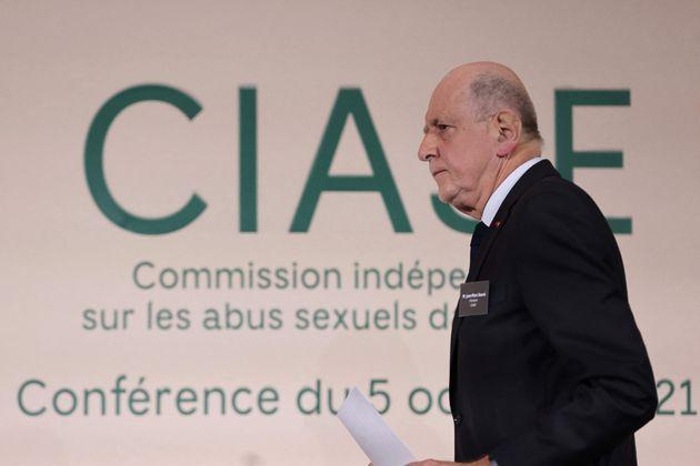 Jean-Marc Sauvé le 5 octobre 2021 à Paris.