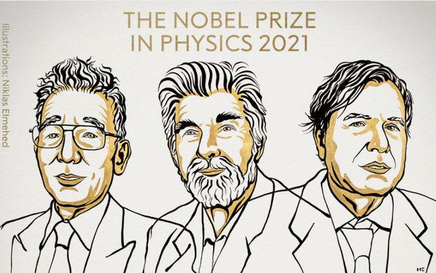 Le prix Nobel de physique 2021 a été attribué à Syukuro Manabe, Klaus Hasselmann et Giorgio Parisi.