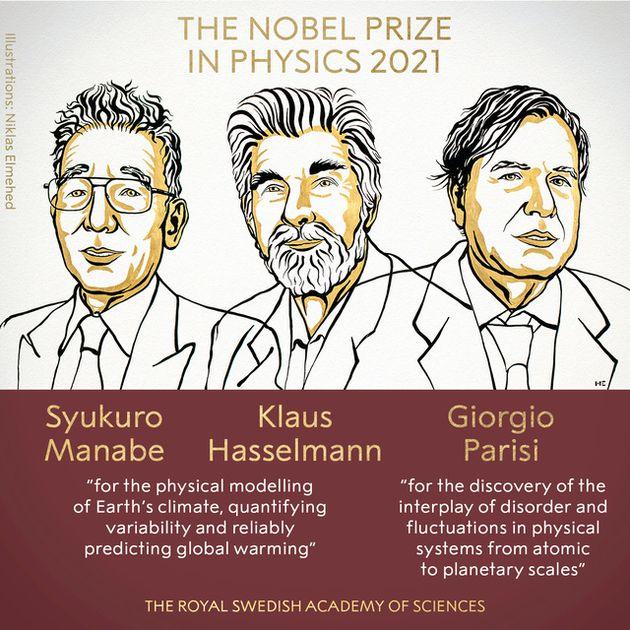 ノーベル物理学賞の受賞が決まった3氏