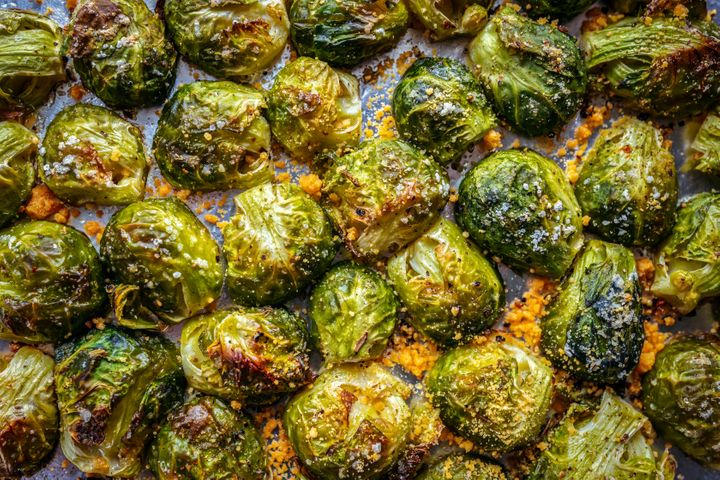 Brussels sprouts are a good source of vitamin C, B6, fiber and potassium.