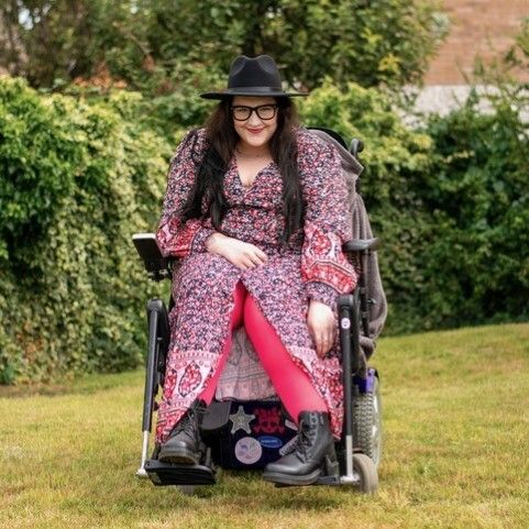 """Sarah Alexander-Georgeson: """"Disability is not linear."""""""