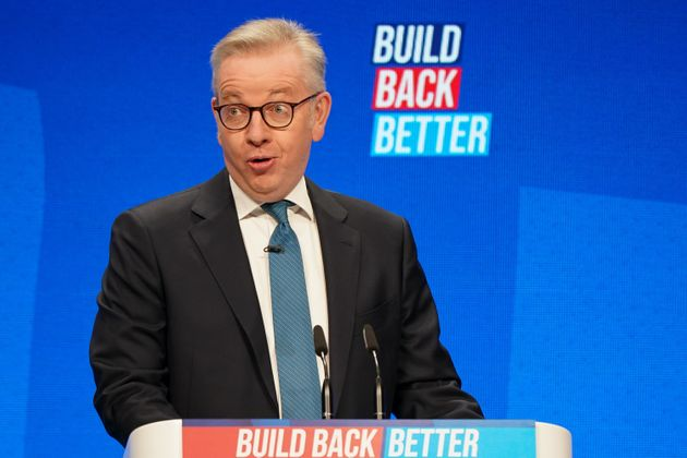 Gove was caught dancing on Tuesday