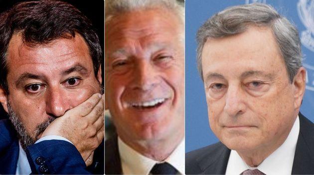 Matteo Salvini, Paolo Agnelli e Mario