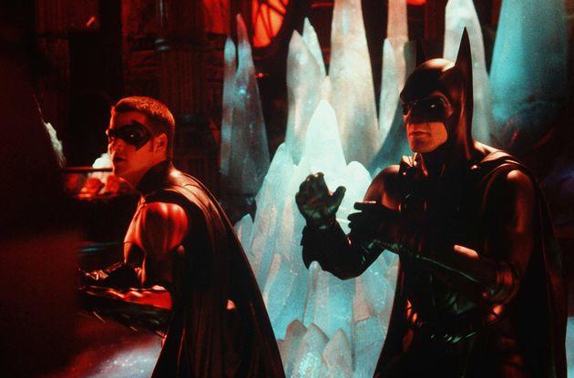 George Clooney took the lead in Batman &