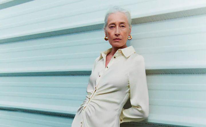 La modelo Marie Sophie Wilson en una foto del catálogo Join Life de Zara.
