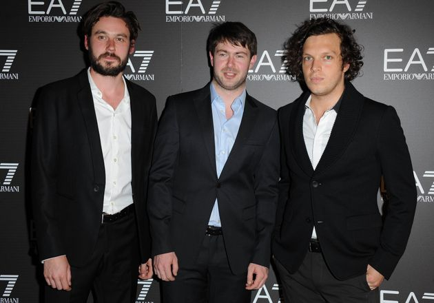 Jack Savidge, Edd Gibson and Ed Macfarlane of Friendly Fires, pictured in