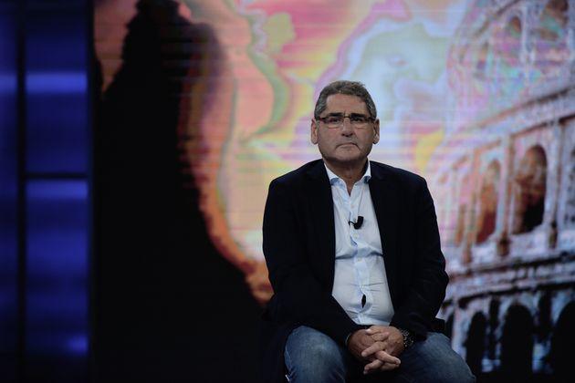 Rom, Italien - 11. Oktober: Salvatore Buzzi spricht während der