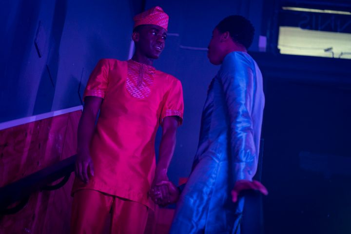 """""""It was important to me to both show the fear and the love that is a part of wanting people to dull their queer brightness down,"""" said British Nigerian writer Temi Wilkey."""