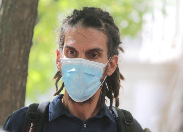 Alberto Rodríguez, el pasado septiembre, saliendo del