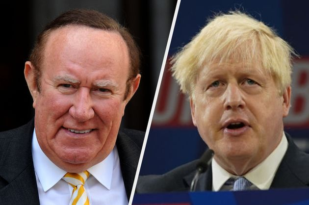 Andrew Neil hit out at Boris Johnson after his speech on