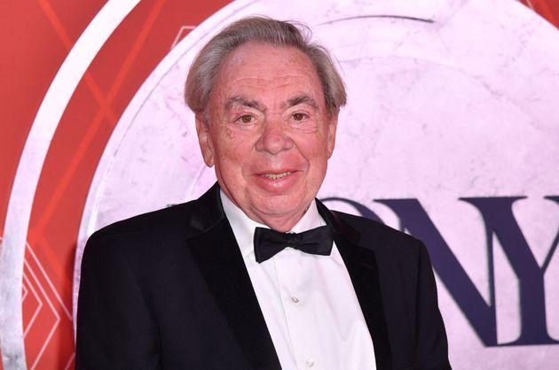 Andrew Lloyd Webber at this year's Tony