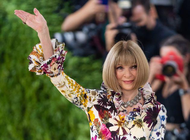 Anna Wintour au Met Gala le 13 septembre 2021 à New York.