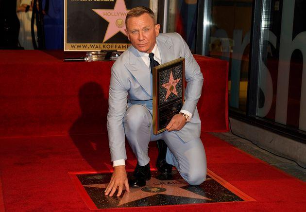 Ο Ντάνιελ Κρεγκ απέκτησε αστέρι στο Hollywood Walk of