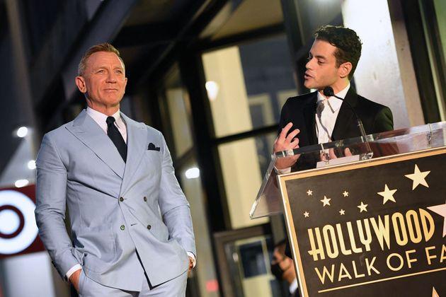 Daniel Craig and Rami