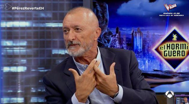 Arturo Pérez-Reverte, en 'El