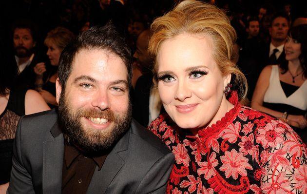 아델과 전 남편 사이먼