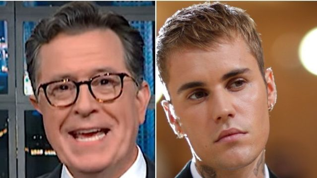 Colbert Has 3 Theories About That Surprise Twist In Justin Bieber's New Video.jpg