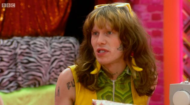 Charity Kase in the Drag Race work