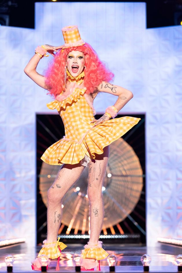 Charity Kase on the Drag Race