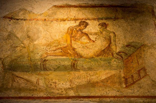 Ερωτική τοιχογραφία...