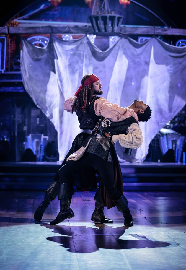 John and Johannes paid tribute to Pirates Of The Caribbean on Saturday
