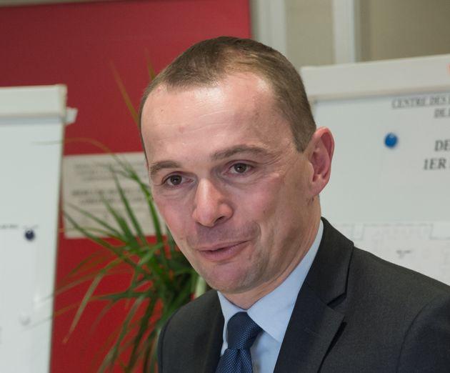 Olivier Dussopt, ministre des Comptes publics, le 23 septembre 2021 à Brignoles.