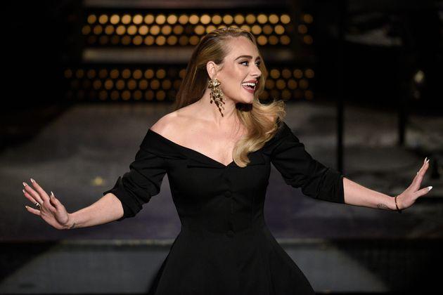 Adele presenting Saturday Night Live last