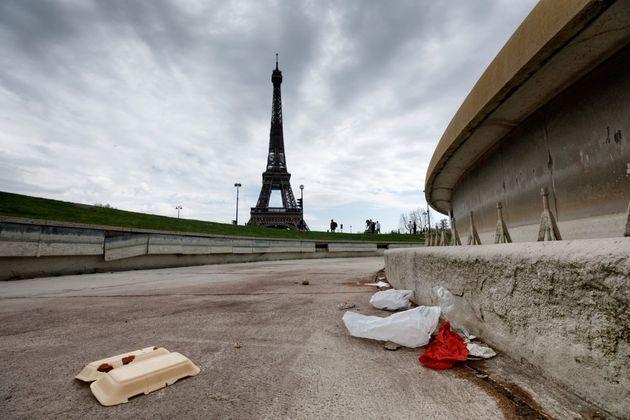 Plus de 80% des habitants de Paris trouvent leur ville sale, selon ce sondage (Photo prise en avril 2021 par Leo Novel/picture alliance via Getty Images)
