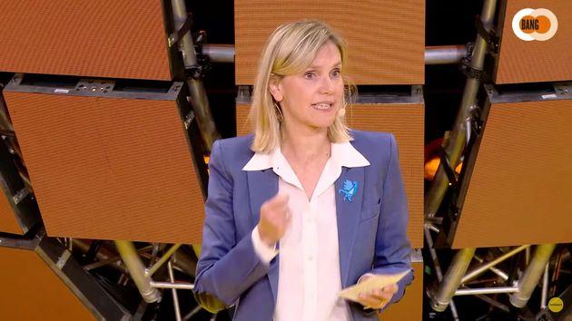 La ministre de l'Industrie Agnès Pannier-Runacher, ici le 7 octobre à la 7e édition de Bpifrance Inno Generation.