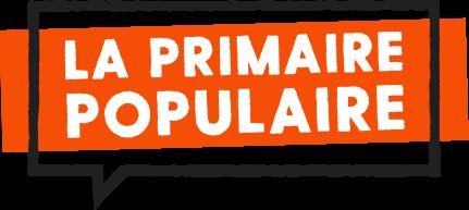 Le logo de la Primaire populaire qui tente de créer un rassemblement à gauche avant 2022