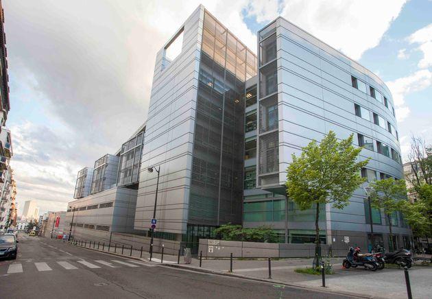 L'hôpital Tenon à Paris, le 20 avril 2020.