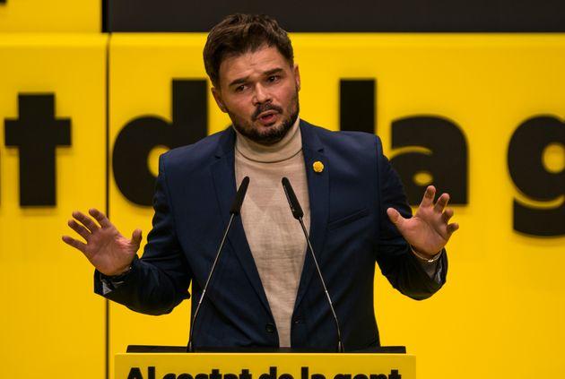 Gabriel Rufián, en