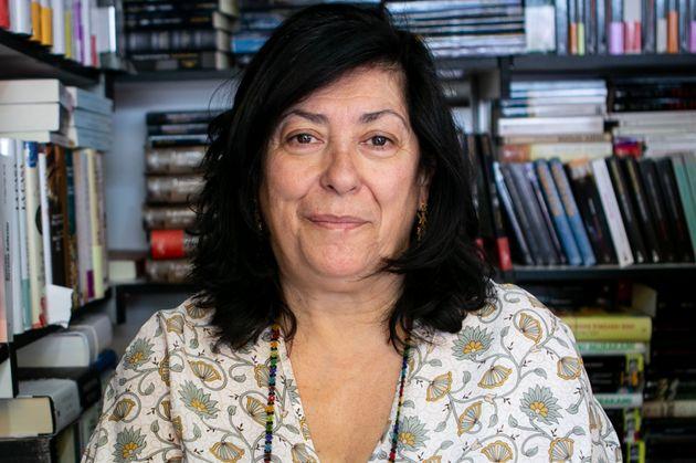 Almudena Grandes en la Feria del Libro de Madrid en