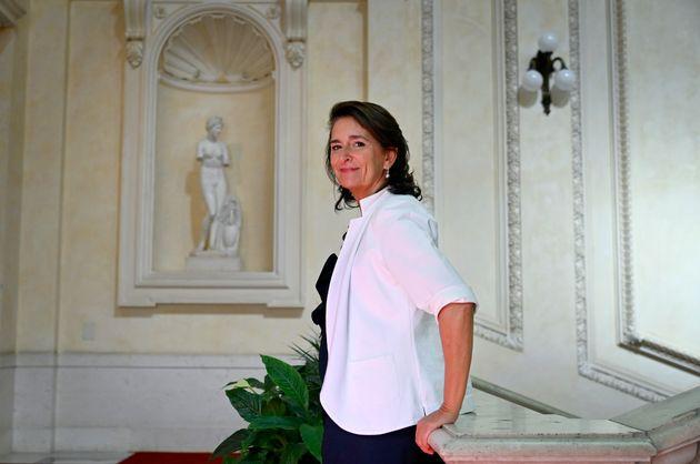 Alessandra Perrazzelli, Deputy Governor of the Bank of Italy, Rome, Italy, 3 September 2020. ANSA/RICCARDO