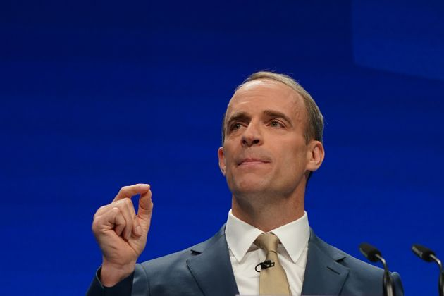 Dominic Raab who is deputy prime minister, lord chancellor and secretary of state for