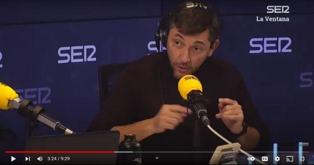 Javier Ruiz, en la Cadena