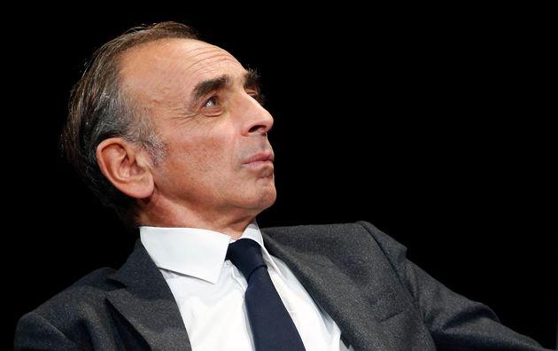 Éric Zemmour lors d'un débat avant le lancement de la promotion de son nouveau livre La...
