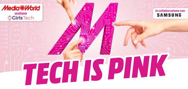 Tech is Pink MediaWorld Samsung