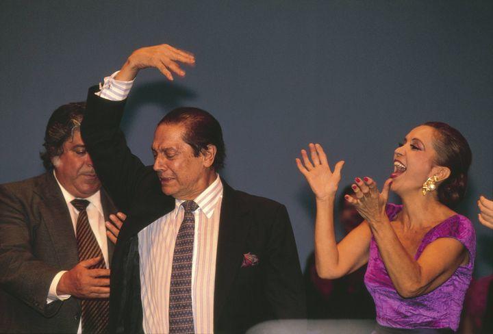 Antonio, en un homenaje en 1993.
