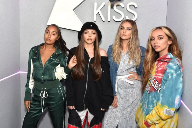 Little Mix pictured in June