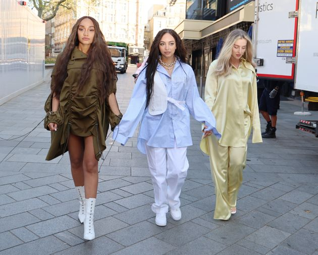 Little Mix pictured in April