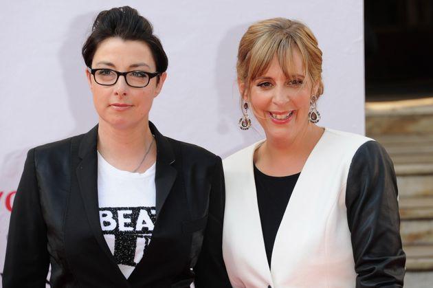 (L-R) Sue Perkins and Mel