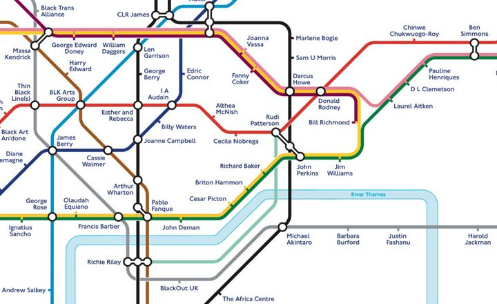 TFL's new redesigned tube map up close