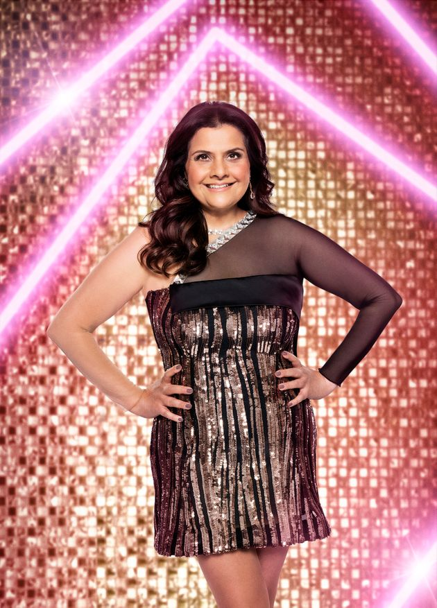 Nina in her official Strictly press