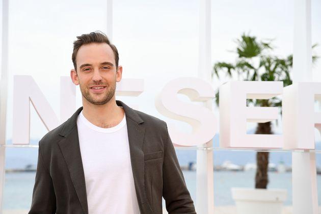 Joël Dicker à la première édition du Festival International Cannes Séries,...