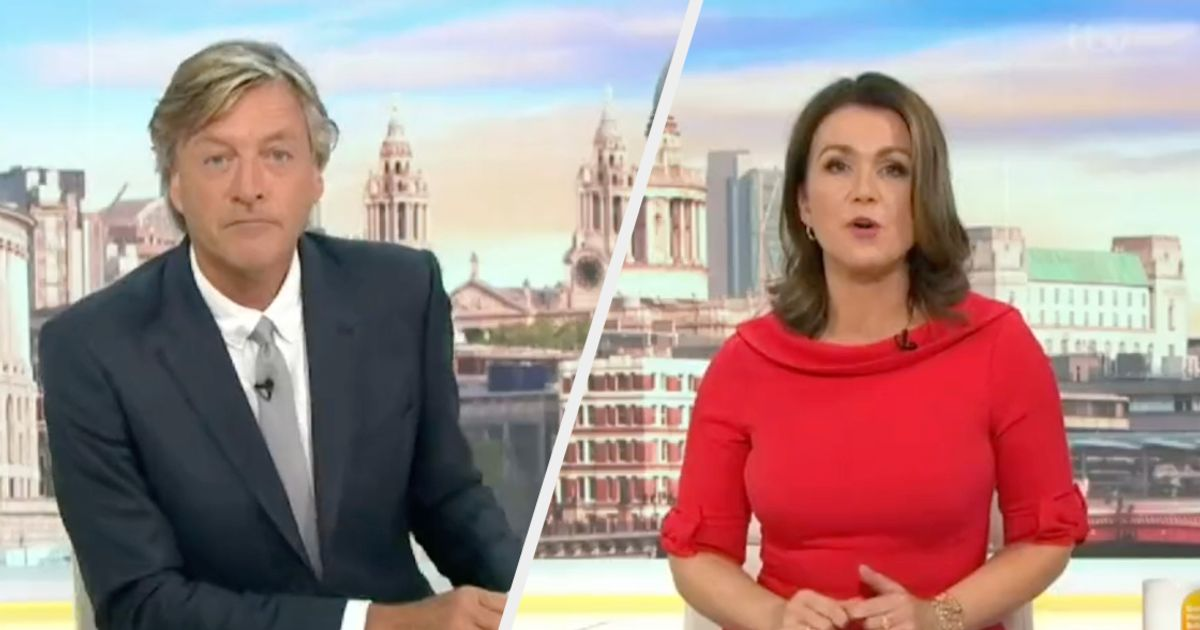 Susanna Reid Calls Out Richard Madeley For His Strange Take On Covid