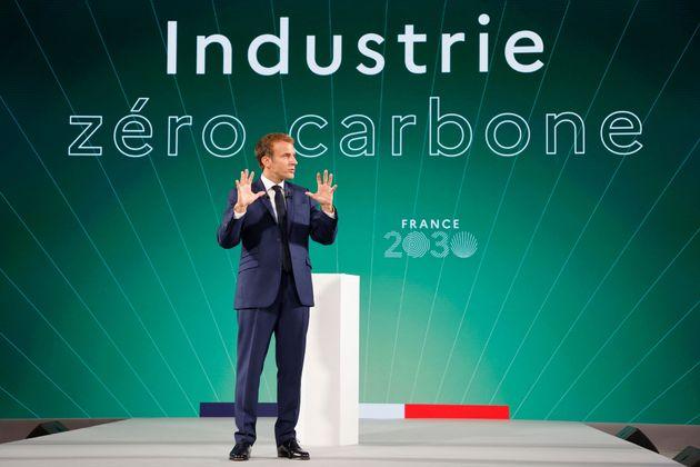 Macron lancia piano