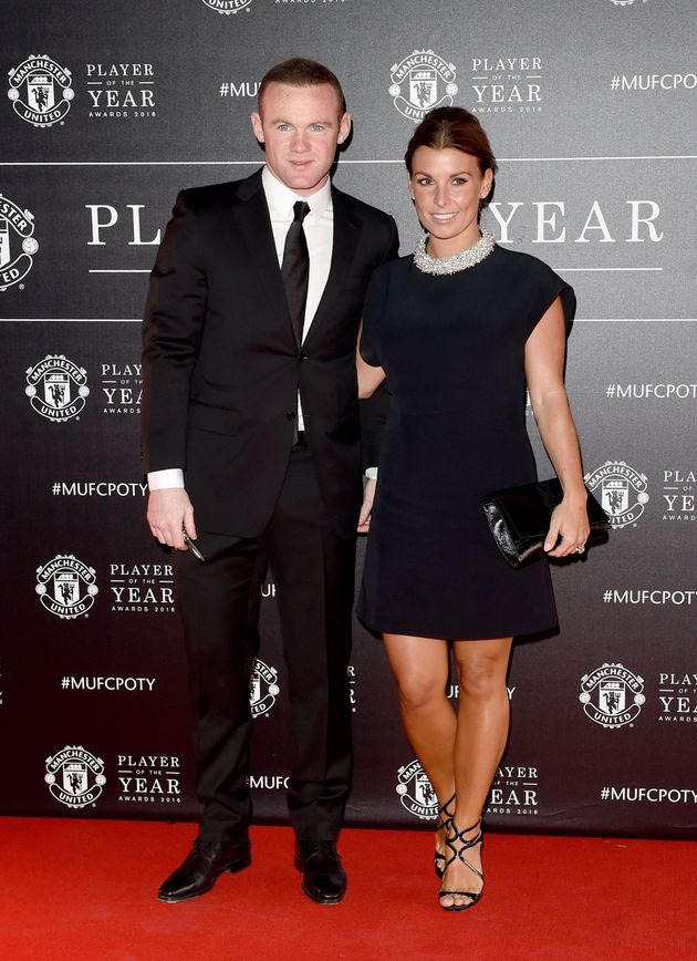 Wayne and Coleen Rooney pictured in