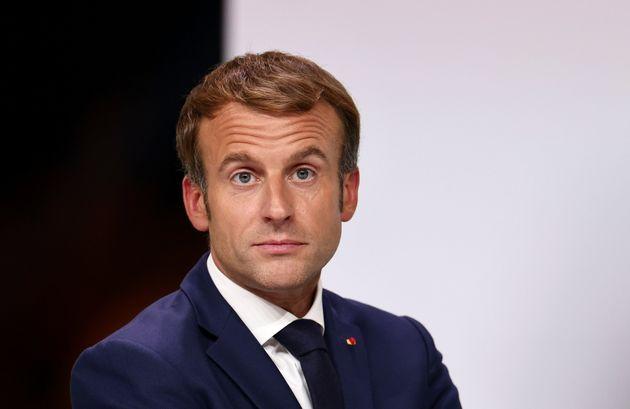 Macron (ici le 8 octobre 2019) critiqué pour avoir répété que